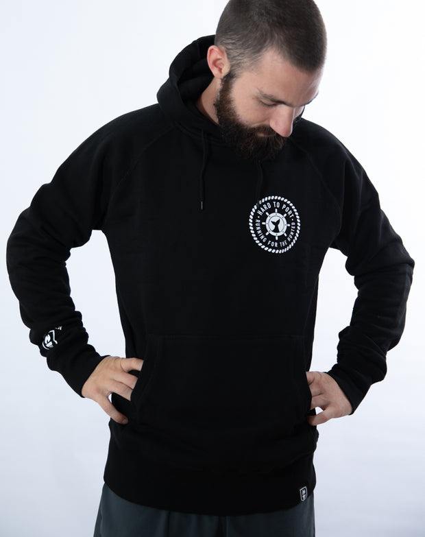"""Running For The Hunted"" Hooded Sweater"