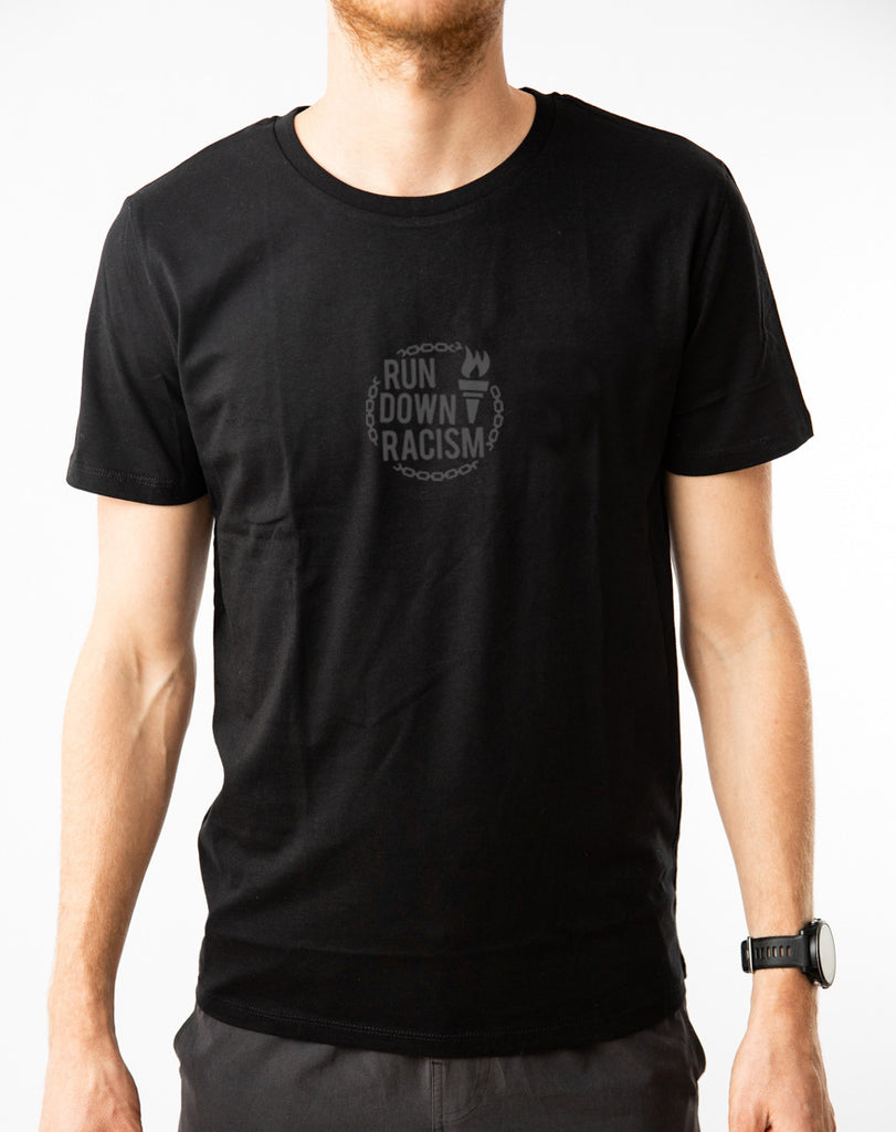 "THE BLACK SERIES ""Run Down Racism"" Shirt"