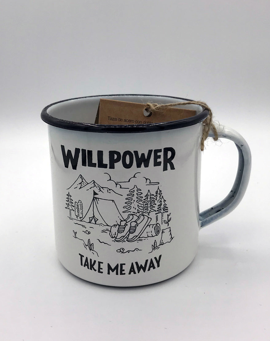"""Take Me Away"" Outdoor Mug"