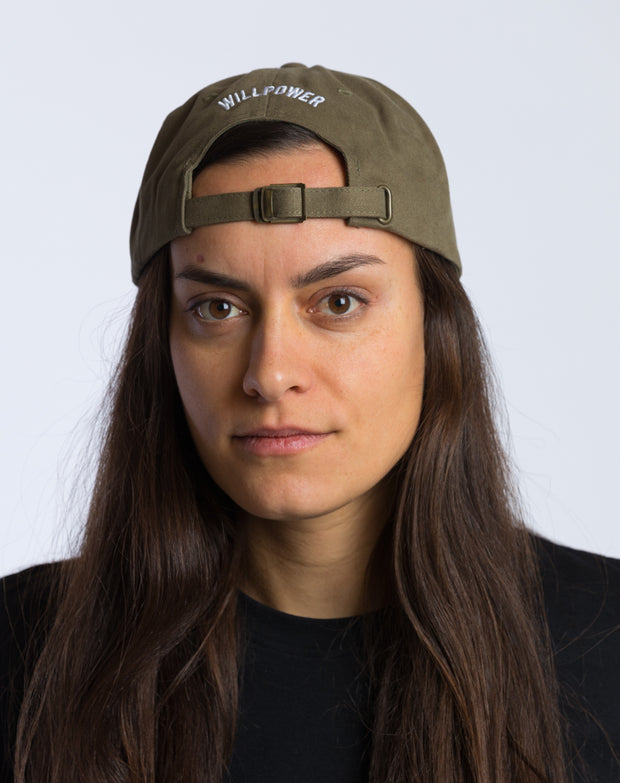 Willpower Dad Cap (Olive)