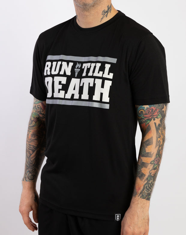 """Run Till Death"" Racing T-Shirt (Men)"