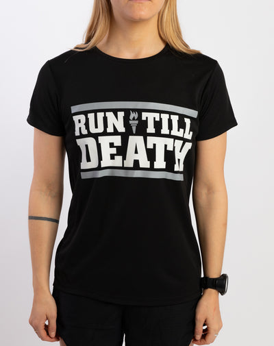 """Run Till Death"" Racing T-Shirt (Women)"