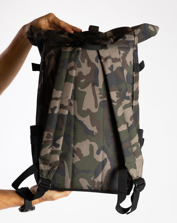 Rolltop Backpack (Ltd. Camou)