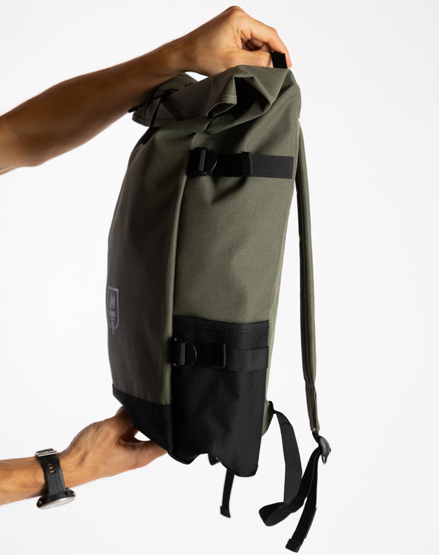 Rolltop Backpack (Ltd. Olive)