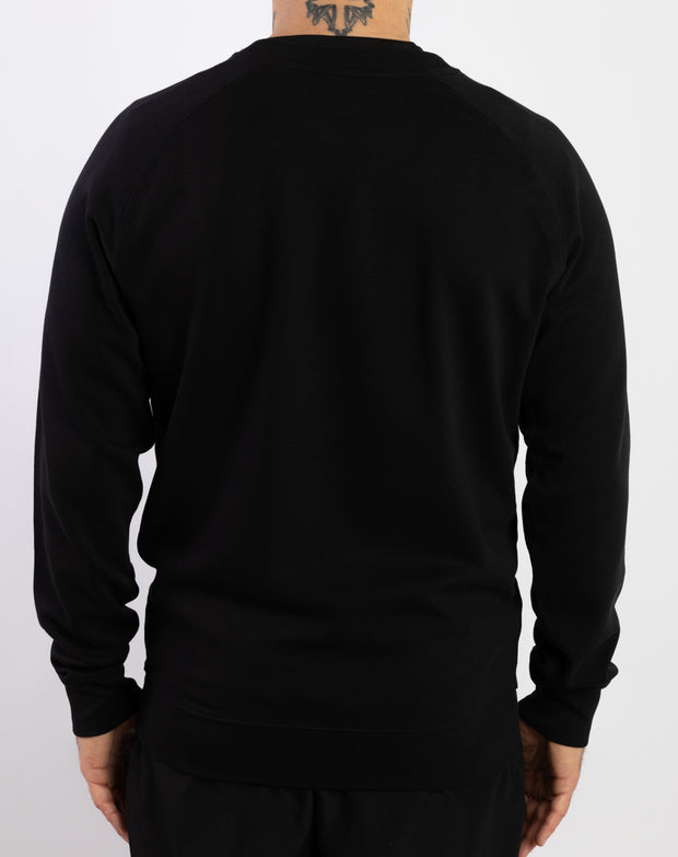 """Run Till Death"" Crewsleeve (Black)"