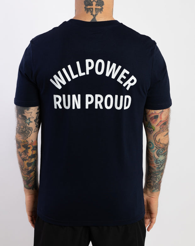 """Run Proud"" Cotton T-Shirt (Ltd. 90s Color)"