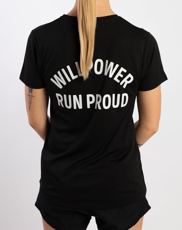 """Run Proud"" Racing T-Shirt (Women)"