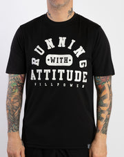 """Running With Attitude"" Racing T-Shirt (Men)"