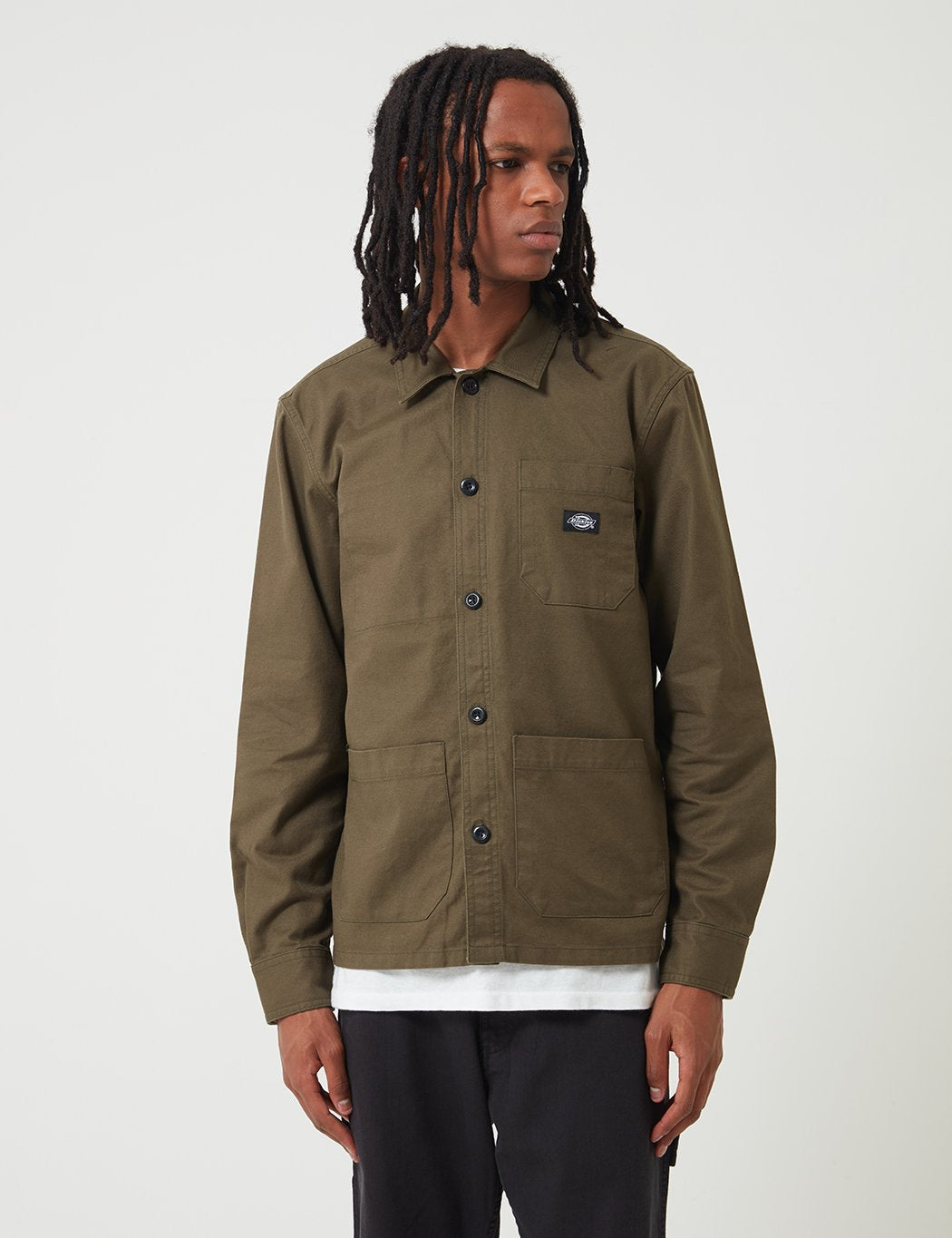 Dickies Caprock Over Shirt - Dark Olive Green