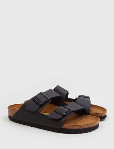 Womens Birkenstock Arizona Sandals (Narrow) - Black