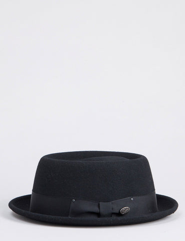 Bailey Darron Pork Pie Hat - Black