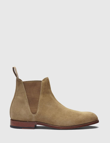 Grenson Nolan Suede Chelsea Boot - Tabacco