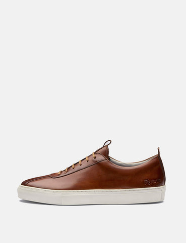 Grenson Sneakers 1 (Hand Painted) - Tan