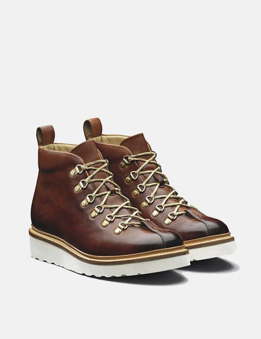 Grenson Bobby Hiker Boot (Hand Painted) - Tan