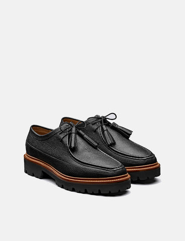 Grenson Bennett Shoe 112640 (Leather) - Black