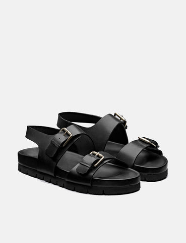 Grenson Lennox Sandal (Leather) - Black