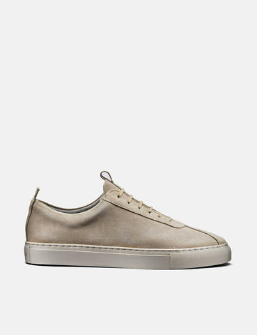 Grenson Sneakers 1 (Suede) - Stone