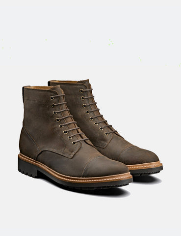 Grenson Joseph Boot (Rugged Suede) - Brown