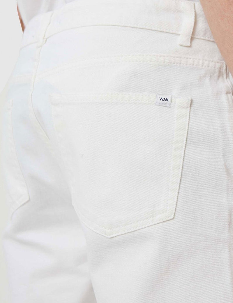 Wood Wood Wes Jeans - White