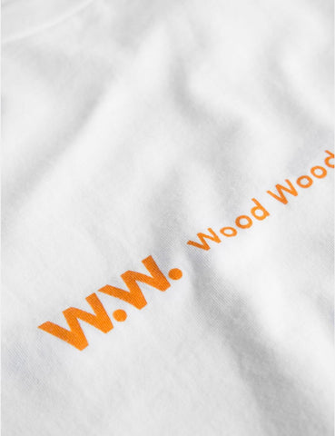 Wood Wood Eden T-Shirt - Bright White