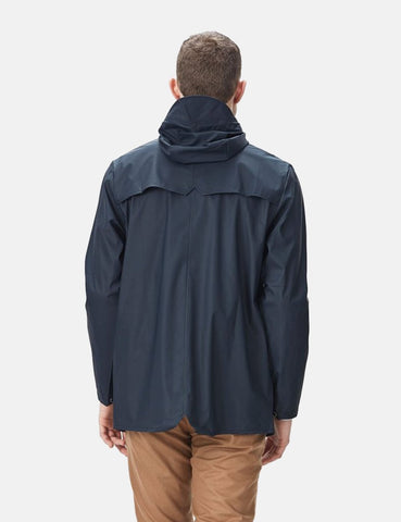 Rains Waterproof Jacket - Navy Blue