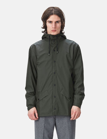 Rains Jacket - Olive Green