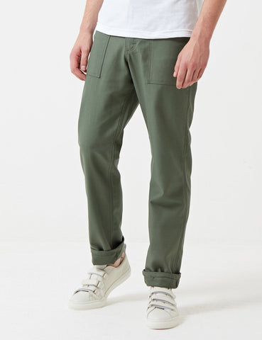 Stan Ray 4 Pocket Fatigue Pant (Loose Taper) - Olive Green
