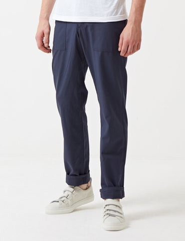 Stan Ray 4 Pocket Fatigue Pant (Loose Taper) - Navy Rip Stop