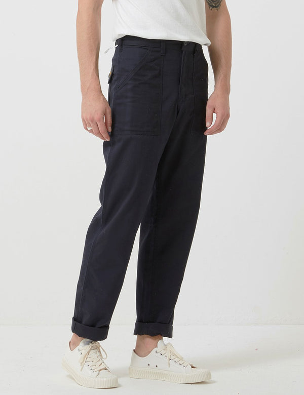 Stan Ray 4 Pocket Fatigue Pant (Loose Taper) - Black