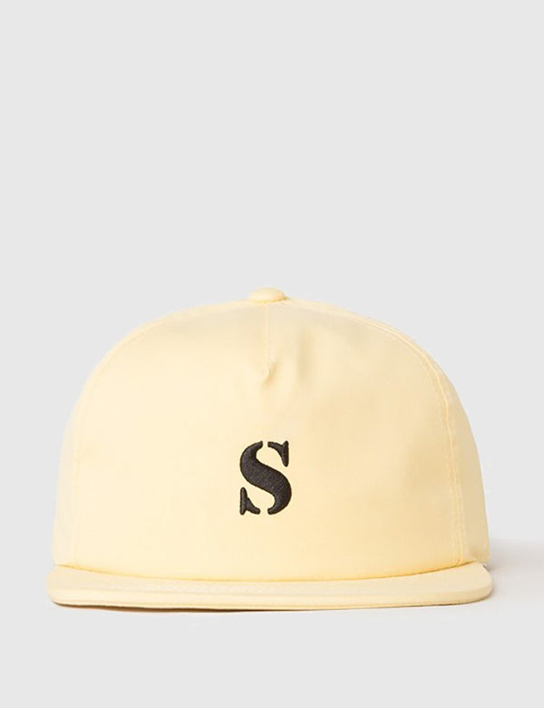 Stussy Bio Washed Cap - Yellow