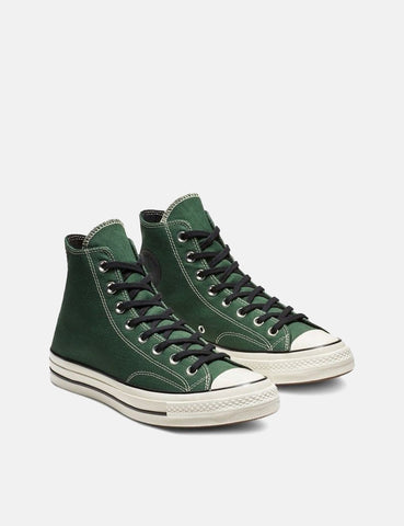 Converse 70's Chuck Hi 163332C (Canvas) - Fir Green/Black/Egret