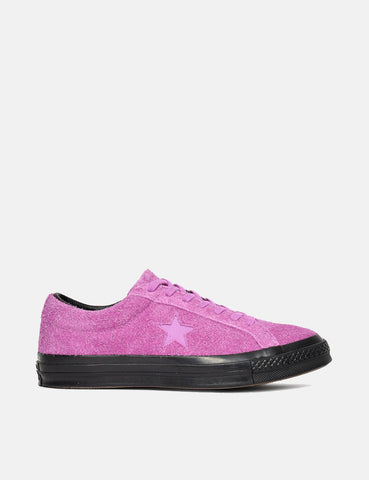 Converse One Star Ox Low Suede (163810C) - Fushia Glow Pink
