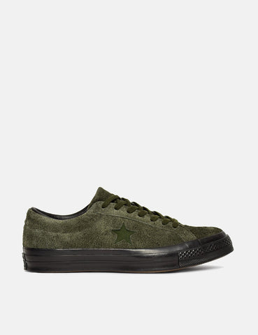 Converse One Star Ox Low Suede (163812C) - Utility Green