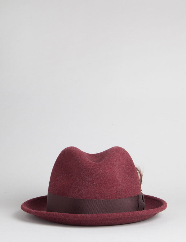 Bailey Tino Trilby Hat - Bruise Mix