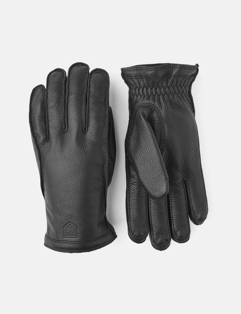 Hestra Frode Gloves (Elk Leather) - Black