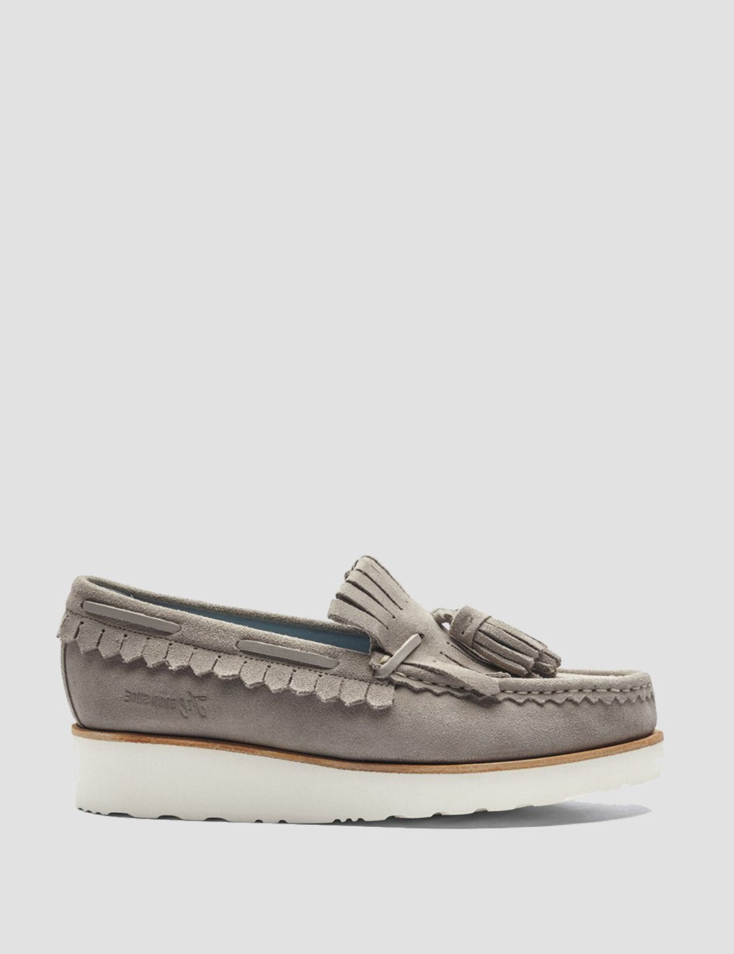 Womens Grenson Nikita Moccasin Loafer - Earth Brown