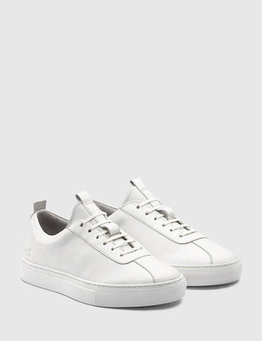 Womens Grenson Sneakers 1 - White