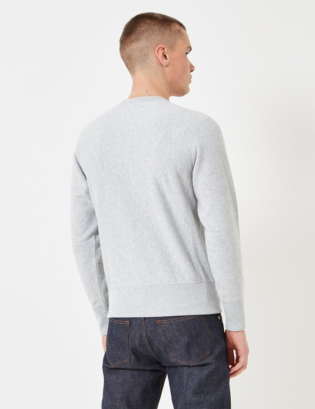 Champion Reverse Weave Sweatshirt - Grey Marl
