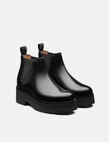 Womens Grenson Naomi Boot (Leather) - Black