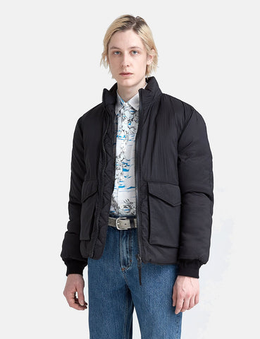Our Legacy Puffed Funnel Jacket (Parachute Nylon) - Black