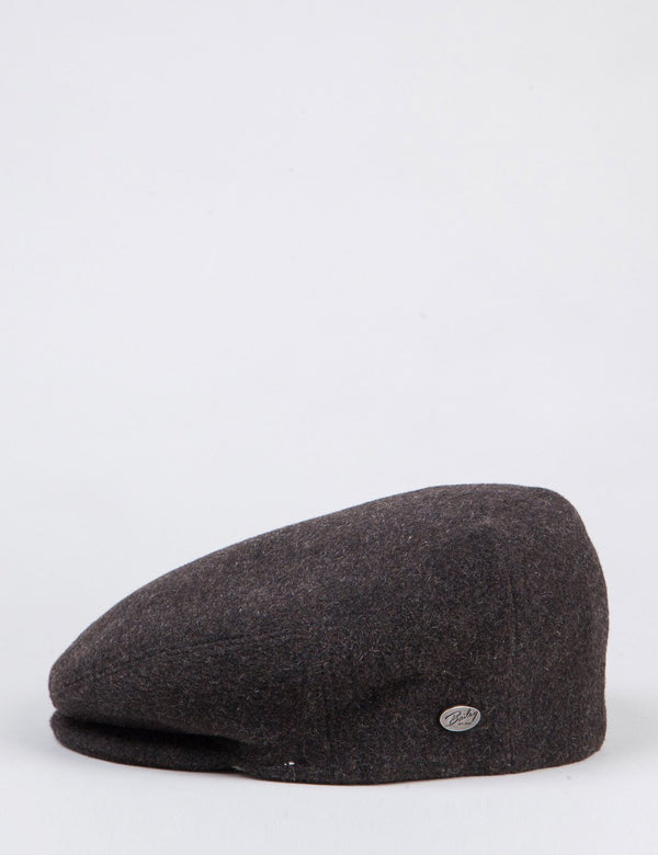 Bailey Lord Solid Ivy Flat Cap - Brown