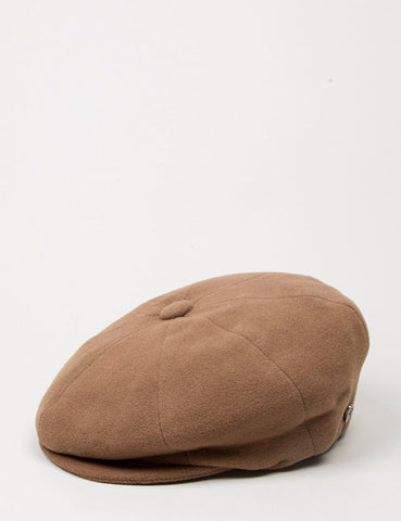 Bailey Galvin Wool Newsboy Cap - Camel