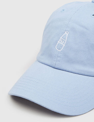 40s & Shorties Scribble Bottle Dad Cap - Baby Blue