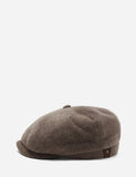 Stetson Hatteras Newsboy Cap (Wool/Cashmere) - Mouse Brown