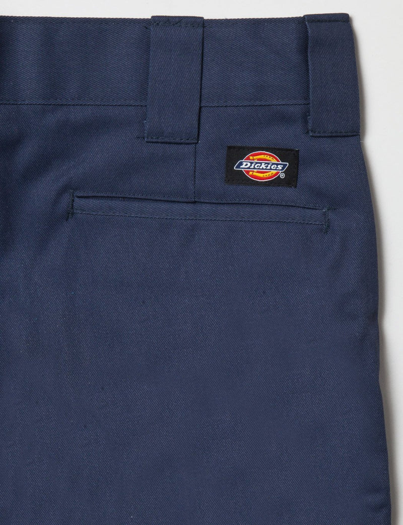 Dickies 273 Slim Straight Work Shorts - Navy Blue
