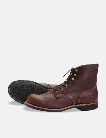 "Red Wing 6"" Iron Ranger Boot (8119) - Oxblood"