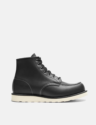 "Red Wing 6"" Moc Toe Boots (8130) - Black Chrome"