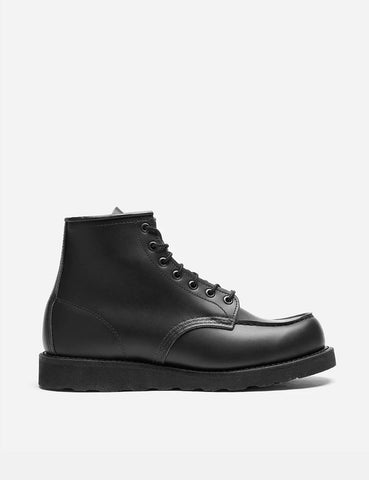 "Red Wing 6"" Moc Toe Boots (8137) - Skagway Black"