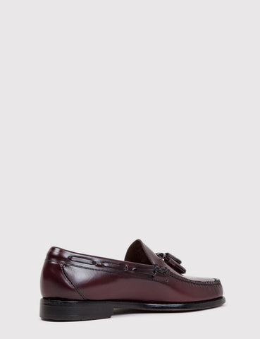 Bass Weejun Larkin Tassel Loafers - Wine