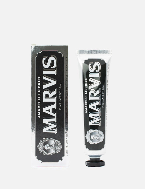 Marvis Aquatic Liqourice Mint Toothpaste - 75ml